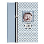 C.R. Gibson  All Boy  Memory Book in Blue