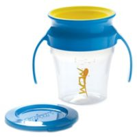 Wow Baby® Spill-Free 360-Degree 7 oz. Training Cup in Blue/Yellow