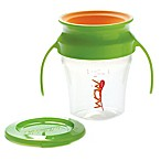 Wow Baby® Spill-Free 360-Degree 7 oz. Training Cup in Green/Orange