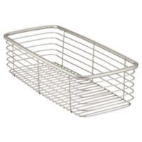 InterDesign® Forma® Medium Ultra Basket in Satin Nickel