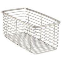 InterDesign® Forma® Large Ultra Basket in Satin Nickel