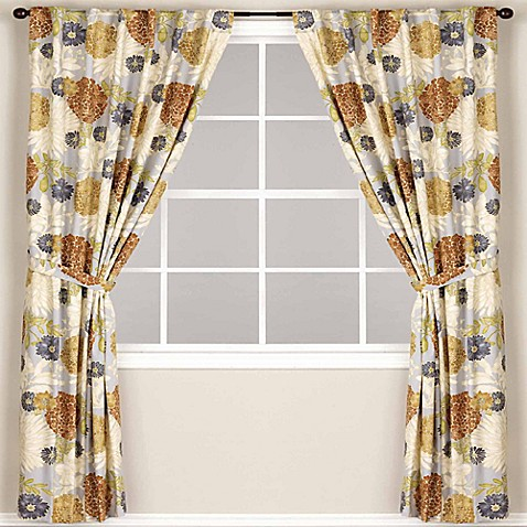 World MarketR Mackenzie Lined Rod Pocket Back Tab Window Curtain Panel