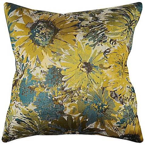 Myop Throw Pillow Covers : MYOP My Fair Lady Square Throw Pillow Cover in Blue - Bed Bath & Beyond