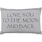 The Vintage House by Park B. Smith® Love You to the Moon Oblong Throw Pillow