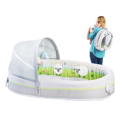Lulyboo 174 Baby Lounge Premium Travel Bed Buybuybaby