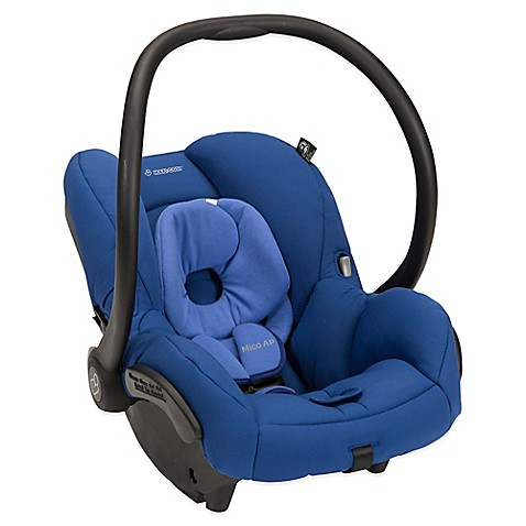 maxi cosi mico ap infant car seat in blue base bed bath. Black Bedroom Furniture Sets. Home Design Ideas