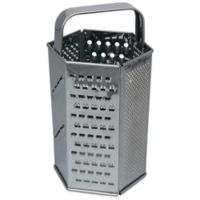 Stainless Steel 6-Sided Grater