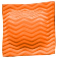 Super Soft® Small Pool Pillow in Orange Breeze