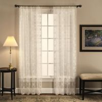 Today's Curtain Richmond Macram 63-Inch Window Curtain Panel in Ecru
