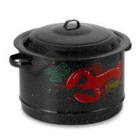 Granite Ware 19-Quart Decorated Seafood Pot