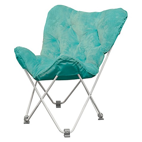 Charmant Tufted Folding Butterfly Chair
