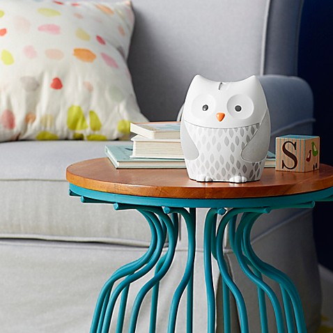 SKIP*HOP® Moonlight & Melodies Owl Projection Nightlight in White