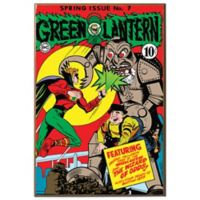 Green Lantern #7 Wall Décor Plaque