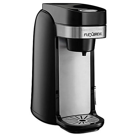 hamilton beach flexbrew 49997r single serve coffee maker