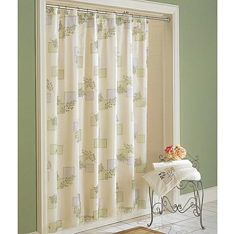 croscill rainier 70 inch x 72 inch fabric shower curtain