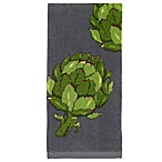 All-Clad Artichoke Print Kitchen Towel in Pewter