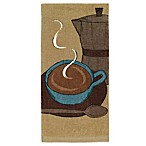 All-Clad Cappuccino Print Kitchen Towel in Cappuccino