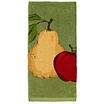 All-Clad Fruit Print Kitchen Towel in Sage