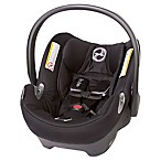 Cybex Platinum Aton Q Infant Car Seat in Black Beauty