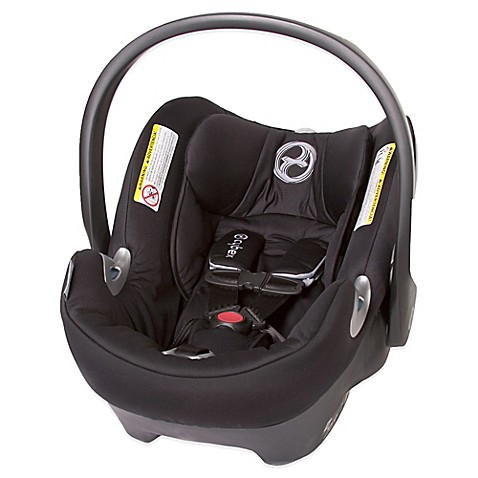 cybex platinum aton q infant car seat in black beauty buybuy baby. Black Bedroom Furniture Sets. Home Design Ideas