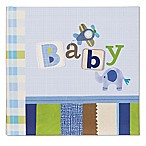 "C.R. Gibson Boy Oh Boy ""Baby"" Slim Bound Photo Journal Album in Blue"