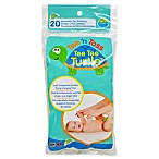 Hamco Tee 'n Toss 20-Count Tee Tee Turtle™ Disposable Pee Protector