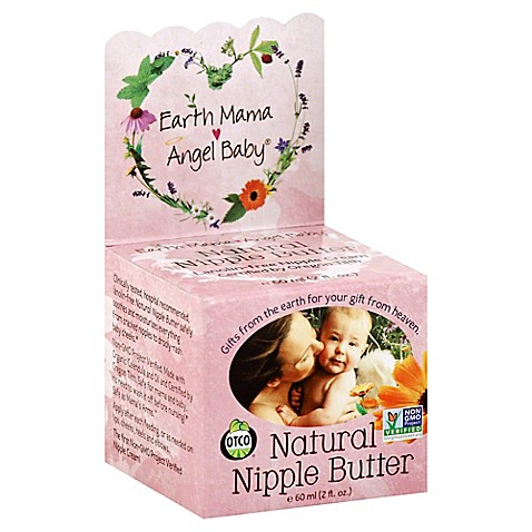 Earth Mama Angel Baby 174 Organics 2 Oz Natural Nipple