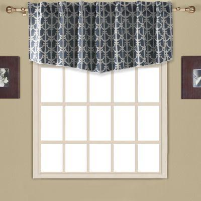 blue darkening velvet p navy living embroidered valance victorian curtain no window room floral dark