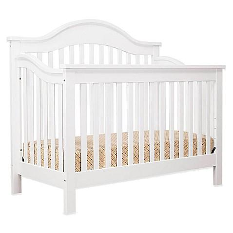 davinci jayden 4 in 1 convertible crib in white buybuy baby. Black Bedroom Furniture Sets. Home Design Ideas