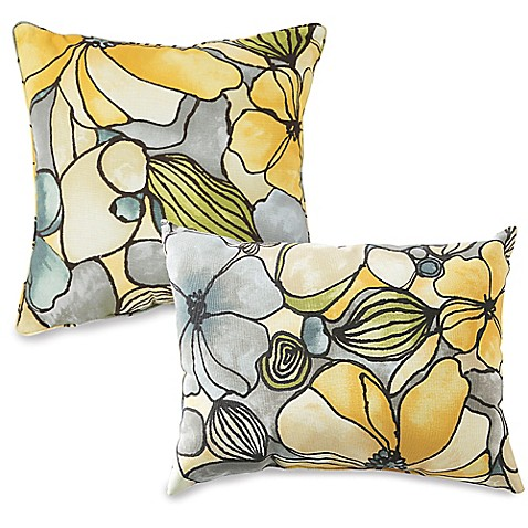 Bed Bath And Beyond Yellow Pillows