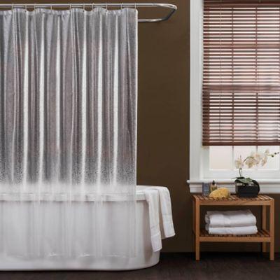 Baltic Linen® PEVA Crackle Shower Curtain