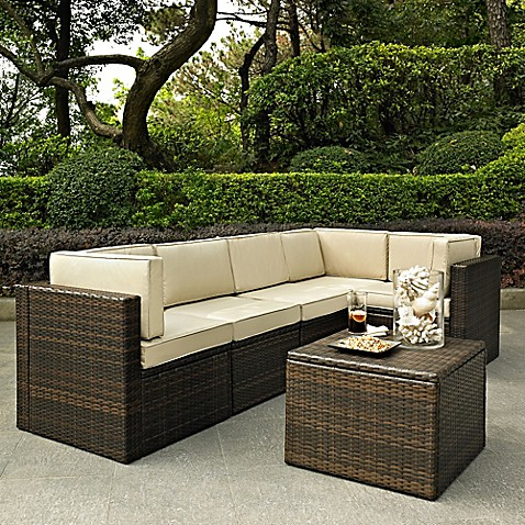 Crosley palm harbor patio furniture collection bed bath - Bed bath and beyond palm beach gardens ...