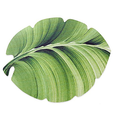 Tropical Leaf Laminated Placemat Bed Bath Amp Beyond