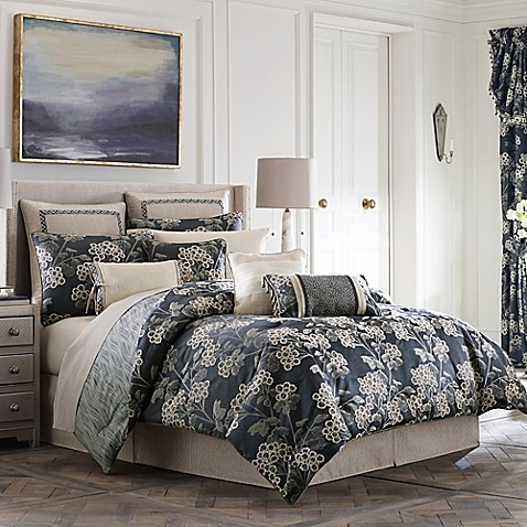 Croscill 174 Paloma Reversible Comforter Set Bed Bath Amp Beyond