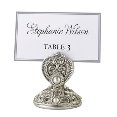 lillian rose regal elegance jeweled place card holders set of 4