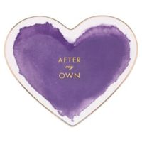 kate spade new york Posy Court™ Heart Dish in Purple