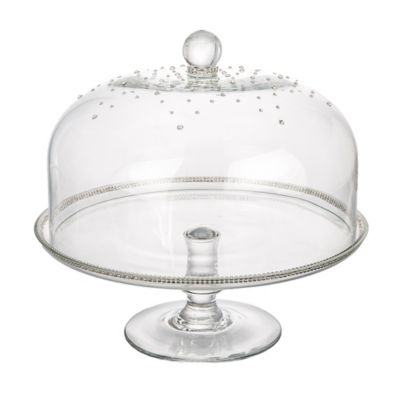 Classic Touch Domed Cake Stand with Swarovski Crystal  sc 1 st  Bed Bath u0026 Beyond & Buy Cake Domes from Bed Bath u0026 Beyond