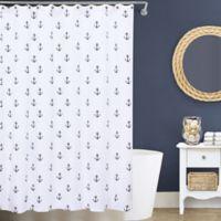 Lamont Home® Anchors 144-Inch x 72-Inch Matelassé Shower Curtain