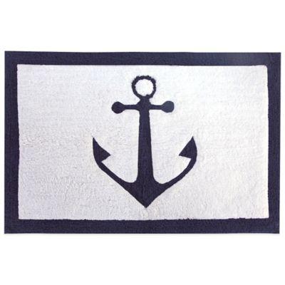 Lamont Home® Anchors Bath Rug - Buy Nautical Bath Rugs From Bed Bath & Beyond