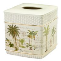 Avanti Colony Palm Boutique Tissue Box Cover