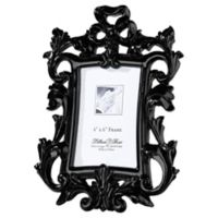 Lillian Rose™ True Love 4-Inch x 6-Inch Frame in Black