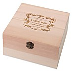 Lillian Rose™ True Love Wooden Card Box