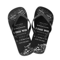 9c3233c7a75a03 Lillian Rose™ True Love Size Small Men s Flip-Flops