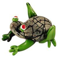 Dale Tiffany™ 6.25-Inch Gentle Frog Art Glass Figurine
