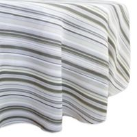 Jelly Bean Stripe 70-Inch Round Tablecloth