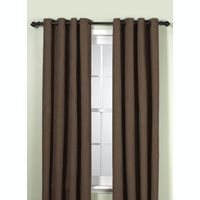 Union Square 84-Inch Grommet Top Window Curtain Panel in Chocolate