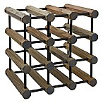 J.K. Adams 12-Bottle Driftwood Wine Rack