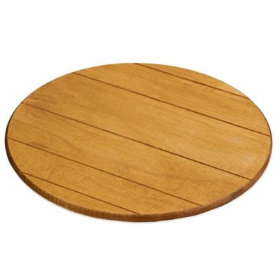 jk adams 18inch round artisan maple lazy susan