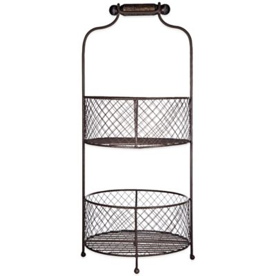 Home Essentials U0026 Beyond 2 Tier Fruit Basket
