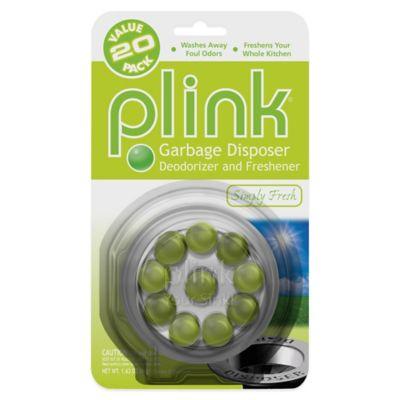 plink 20count simply fresh garbage disposal cleaner u0026 deodorizer value pack - Garbage Disposal Cleaner